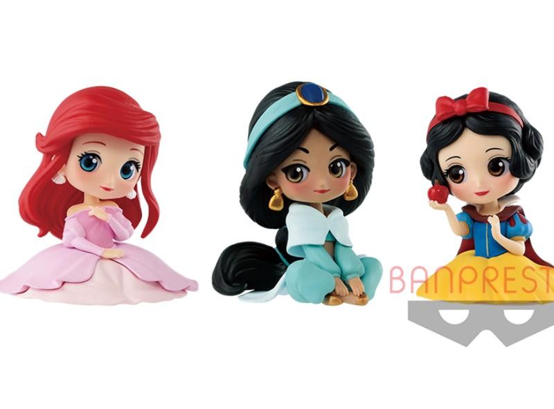 全新迪士尼公主「婚紗限定版Q Posket」