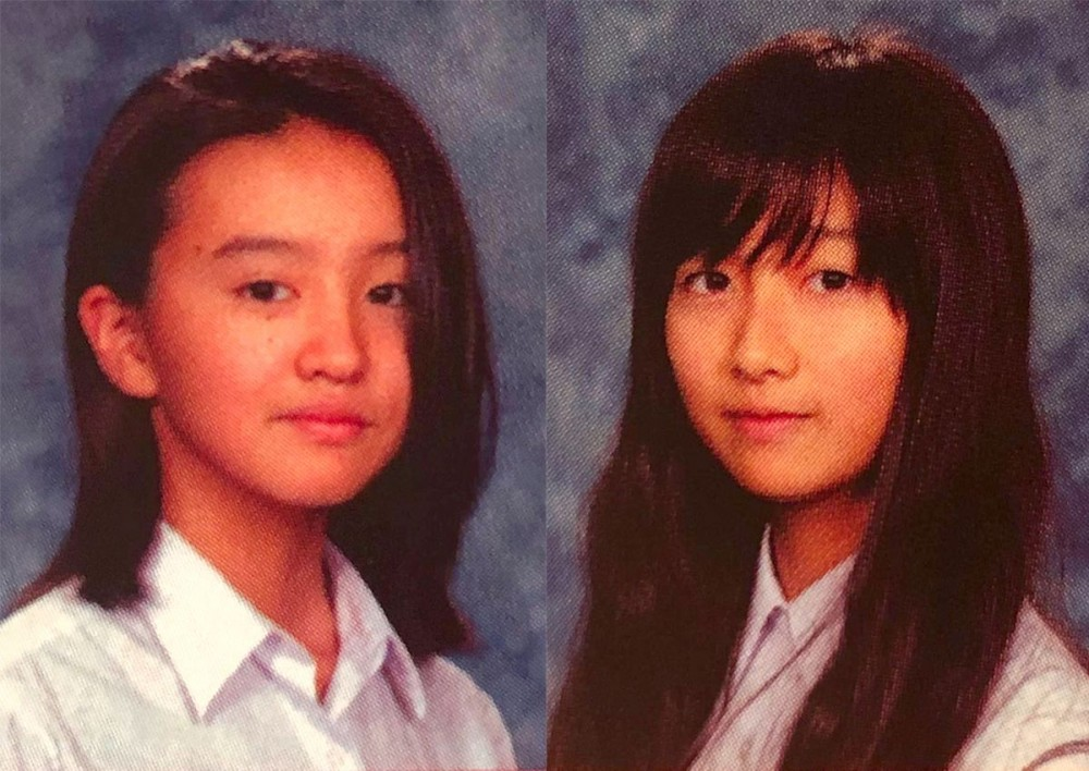 木村心美(Cocomi)和木村光希(Koki)學生舊照