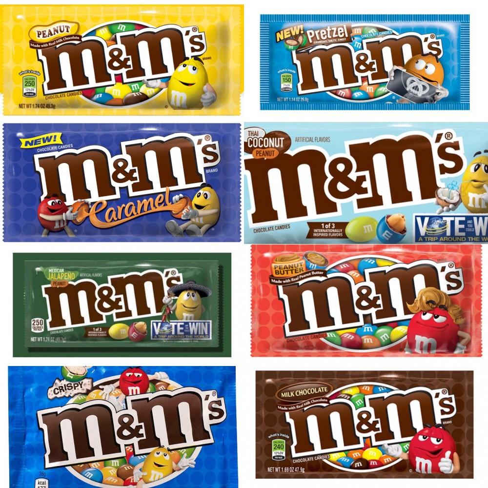 M&M'S朱古力口味