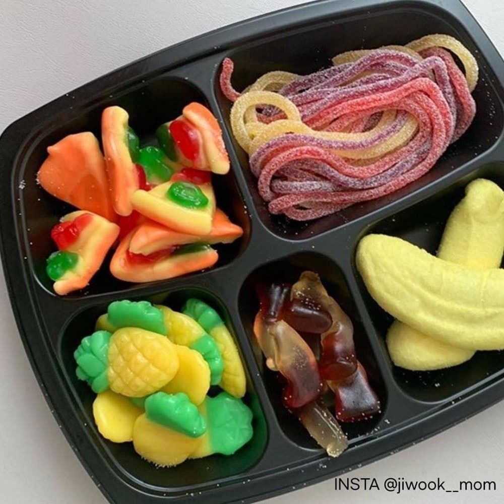 韓國情侶必做「超甜蜜軟糖便當」