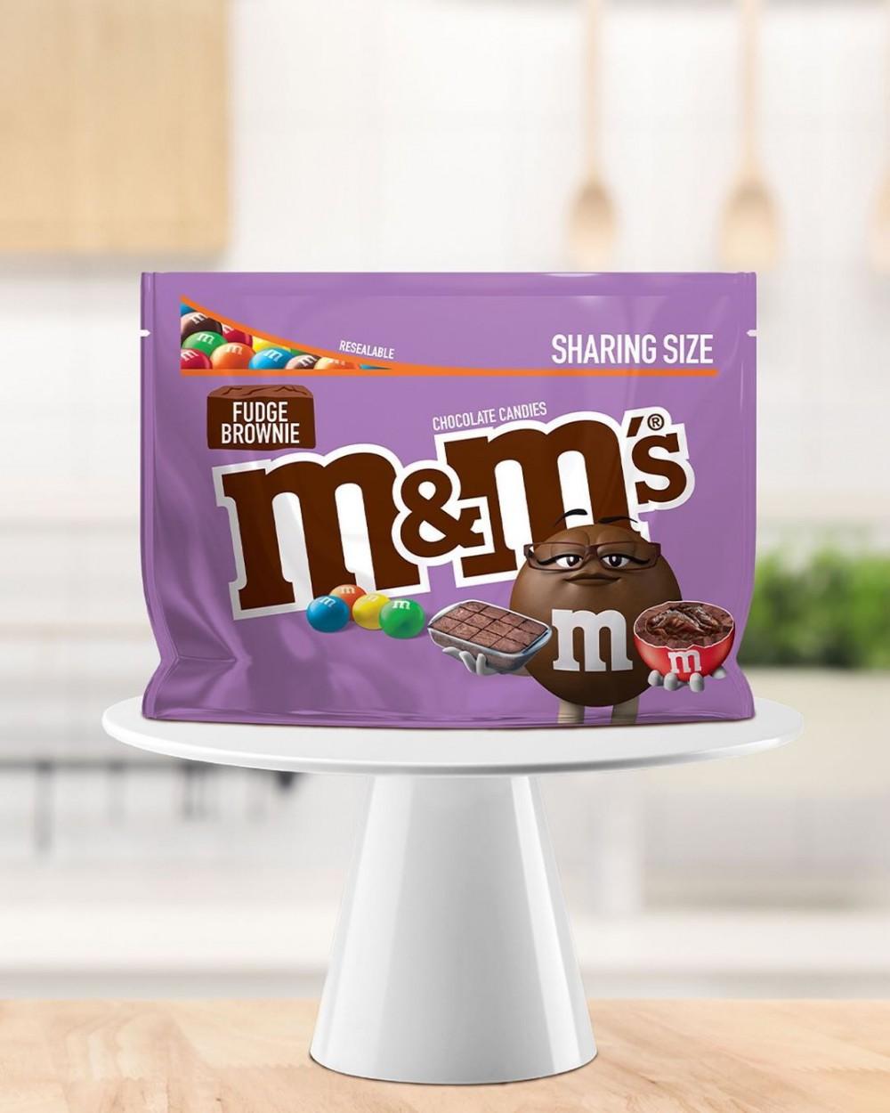 M&M'S 朱古力4月推出Fudge Brownies布朗尼蛋糕新口味