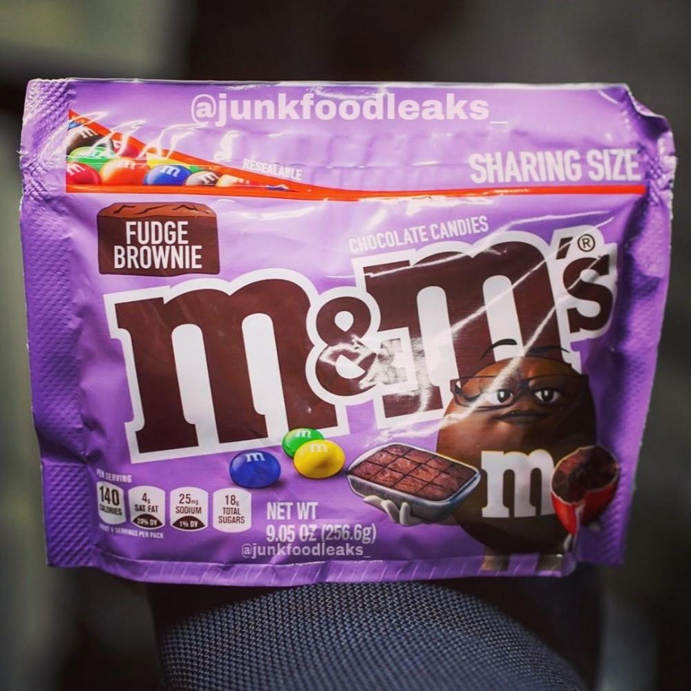 M&M'S Fudge Brownies布朗尼蛋糕新口味綿密香濃
