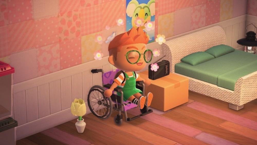《動物之森》專屬輪椅角色