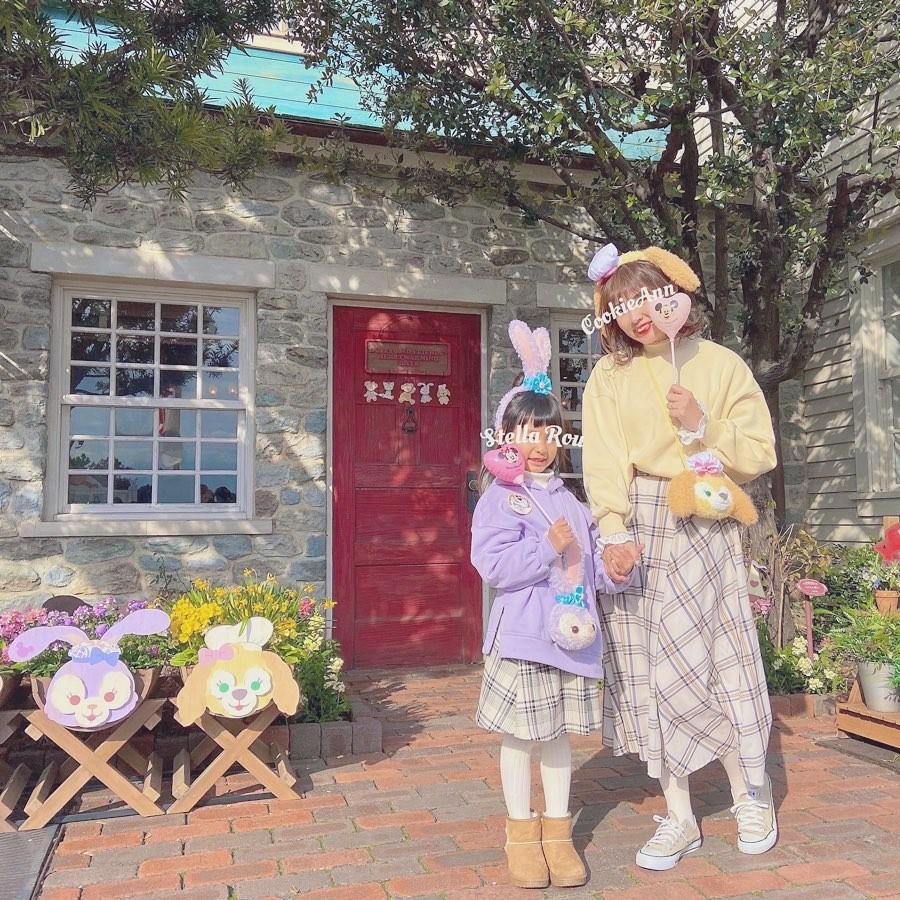 日本親子裝 母女裝 迪士尼