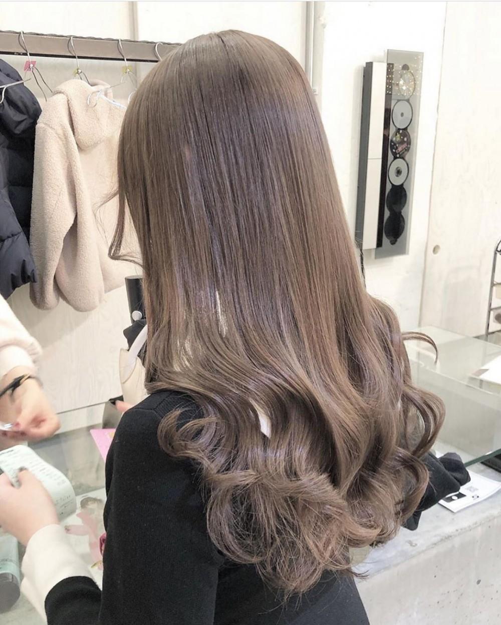 棕髮色2020