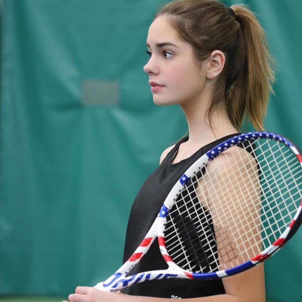 15歲美國網球美少女Makenzie Raine