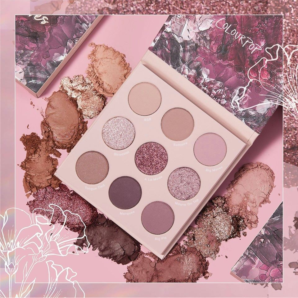 ColourPop 眼影making mauves 香芋藕紫