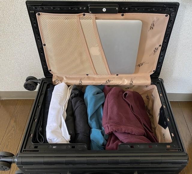 日本 Twitter 爆紅折疊式行李箱!