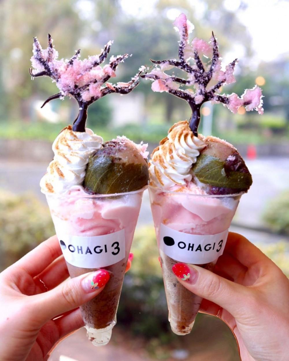 日本櫻花甜點