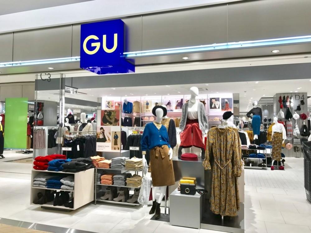 UNIQLO PARK GU的賣場面積超大
