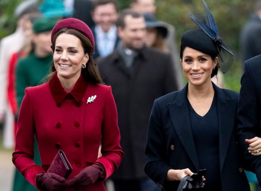 梅根Meghan-Markle和凱特王妃Kate-Middleton不和