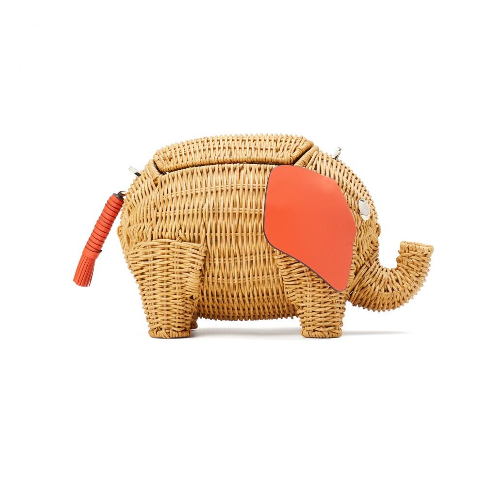 kate spade new york wicker tiny立體大象造形袋 HK$ 4,000