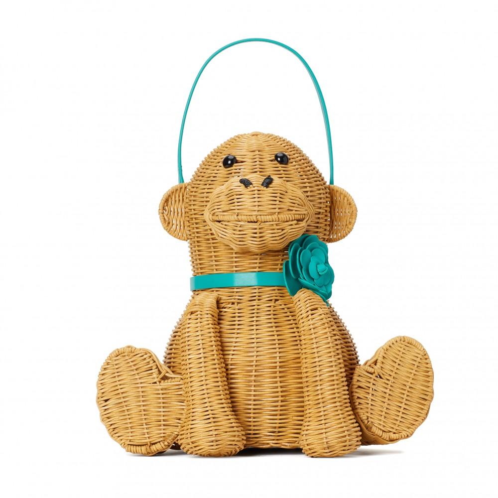 kate spade new york wicker tiny立體猩猩造形袋 HK$ 4,000