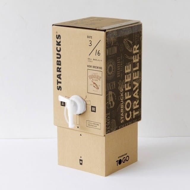 日本Starbucks咖啡箱