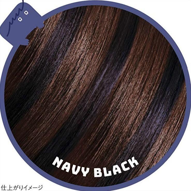 一日染髮筆1DAY Hair Monster 藏青色Navy black