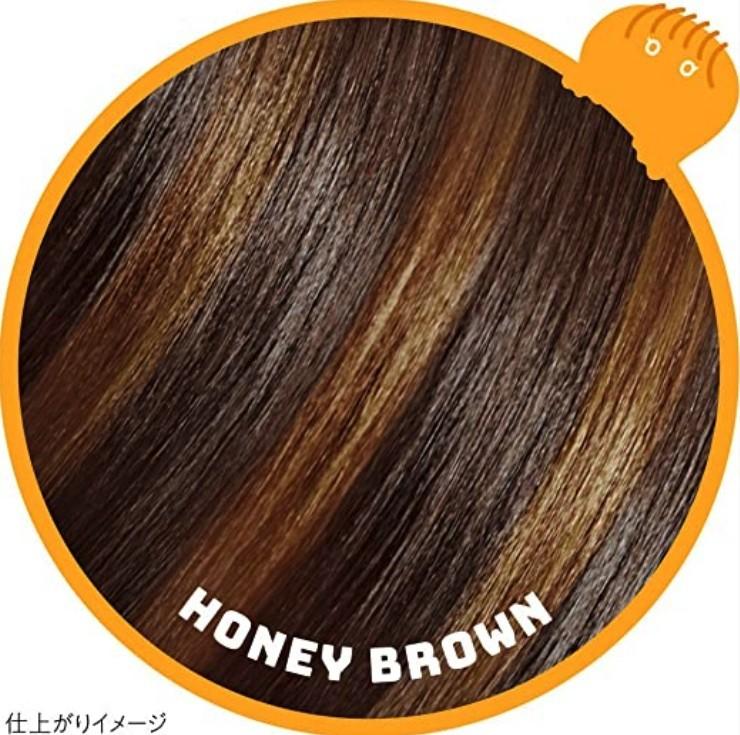 一日染髮筆1DAY Hair Monster 橙色Honey brown