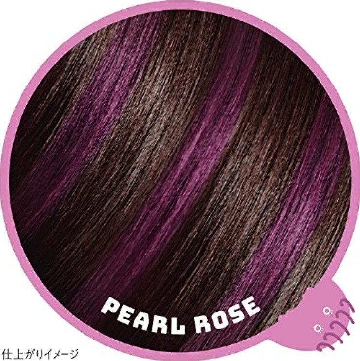 一日染髮筆1DAY Hair Monster 暫時推出6隻顏色,粉紅色Pearl Rose