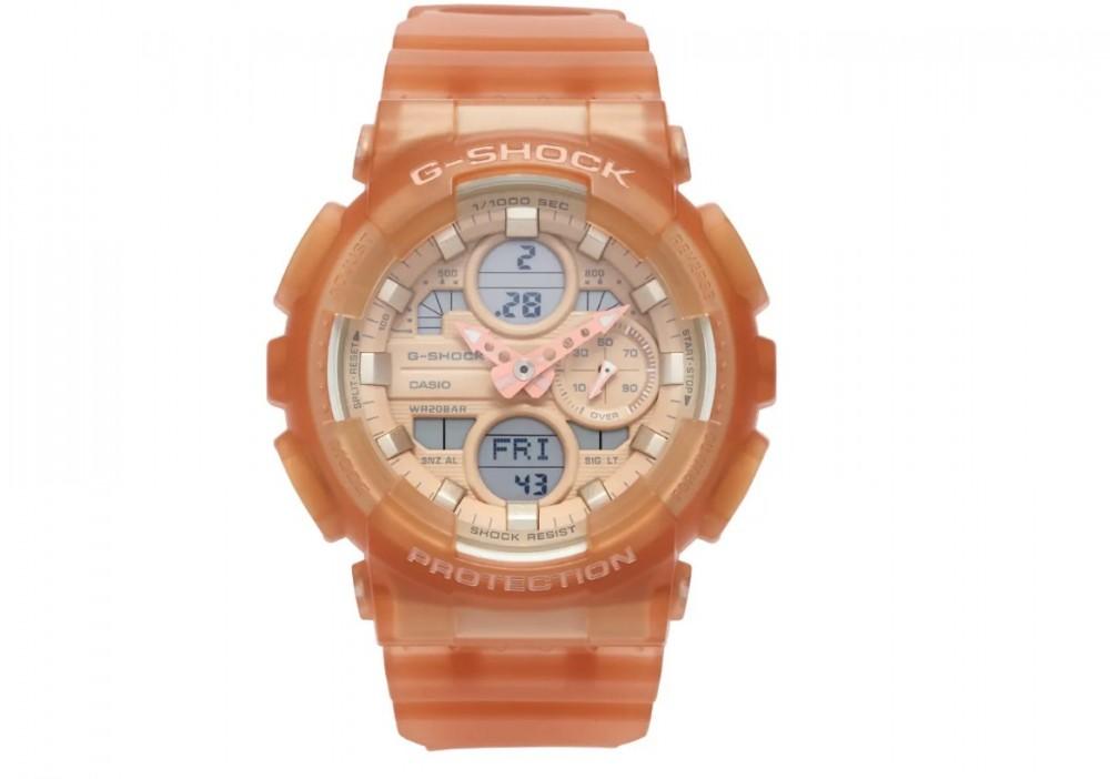 G-SHOCK 裸粉色手錶裸粉 GMA-S140NC-5A1