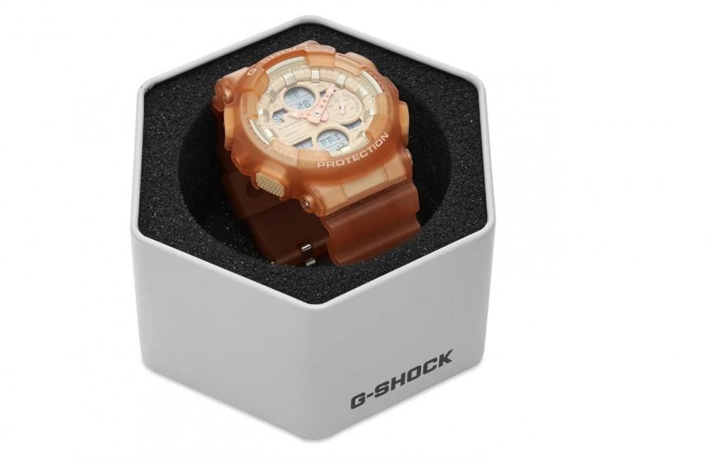 G-SHOCK 裸粉色手錶裸粉 GMA-S140NC-5A1 light brown