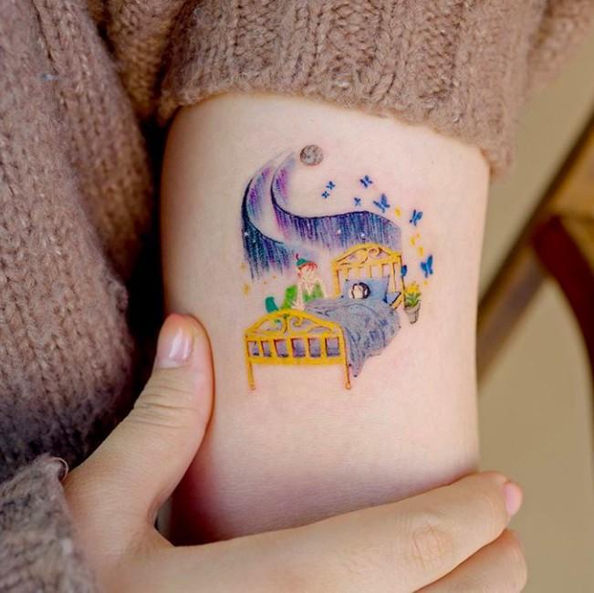迪士尼紋身小飛