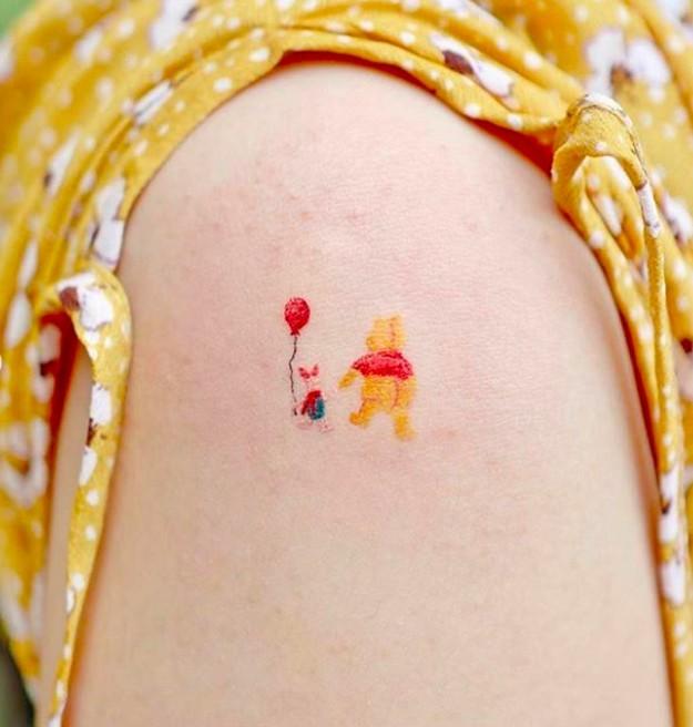 小熊維尼迪士尼紋身