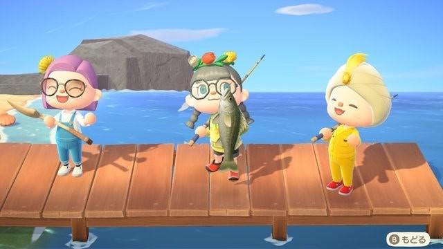 《動物之森》Home Office開會《集合啦!動物森友會》員工去曬釣魚!
