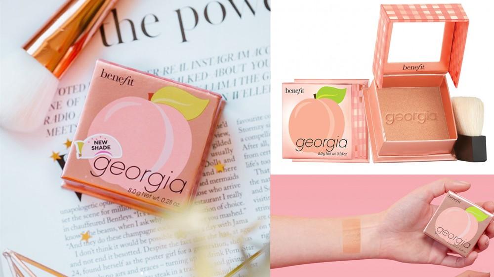Georgia 金粉蜜桃胭脂蜜粉 HK$270