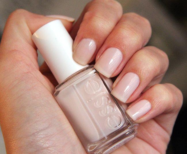 指甲油只能塗透明或裸色!
