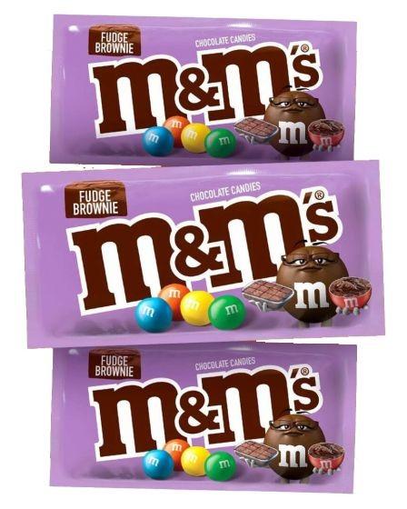 M&M'S Fudge Brownies布朗尼蛋糕新口味 被譽為史上最好味M&M'S