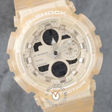 G-SHOCK 米白色手錶GMA-S140NC-7A white