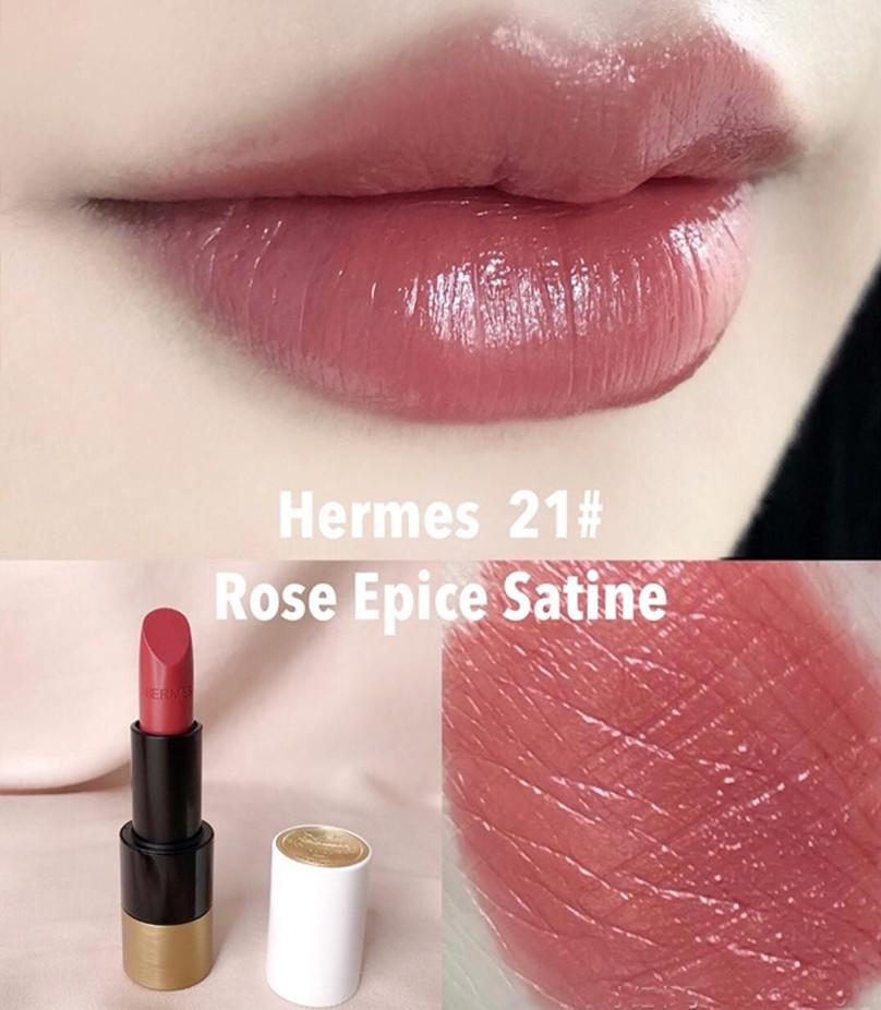 唇膏2020Hermès肉桂甜茶色