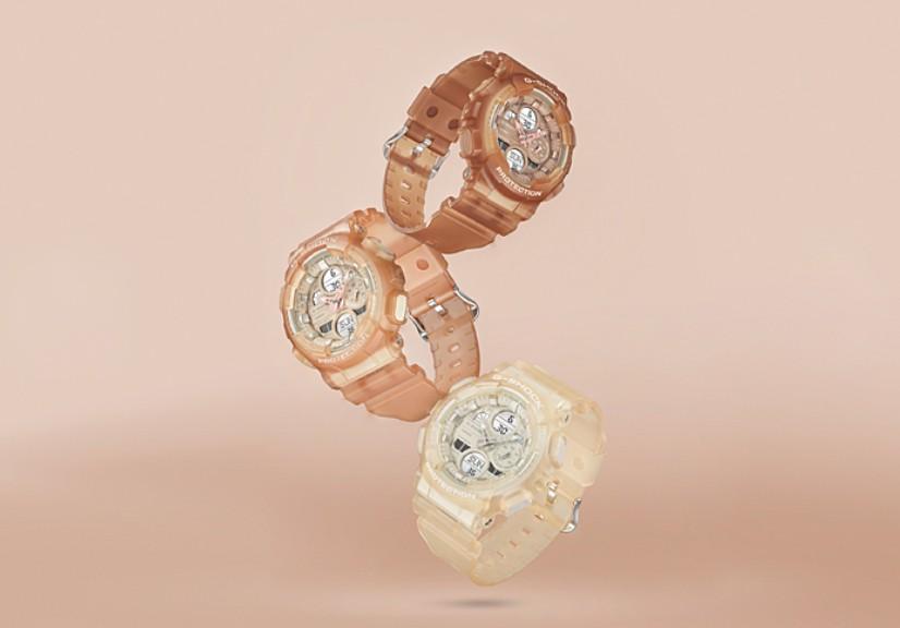 G-SHOCK最新推出三款奶茶色手錶系列GMA-S140NC 價錢