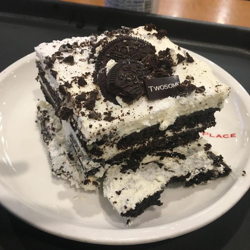 韓國A Twosome Place連鎖咖啡店Oreo Ice Box蛋糕食譜
