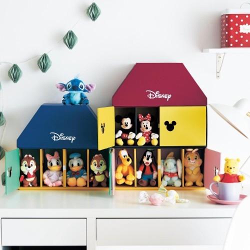 日本bellemaison迪士尼公仔收納箱