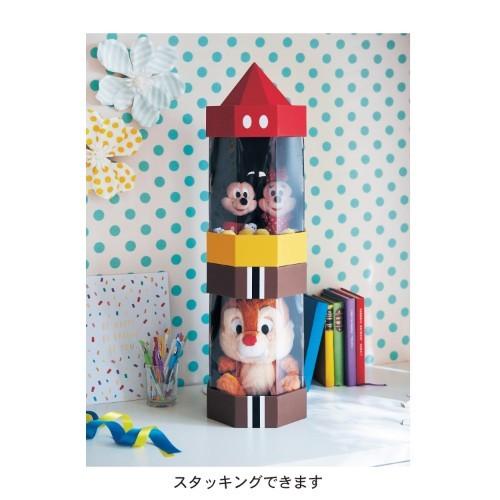 日本雜貨品牌bellemaison就推出了「迪士尼公仔收納箱」