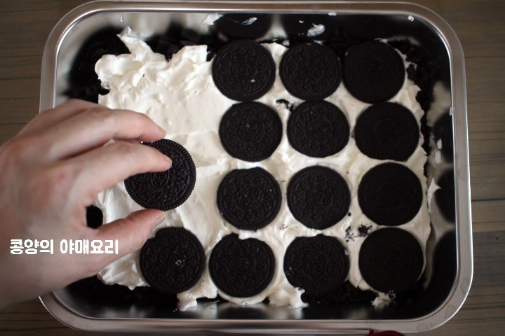 Oreo ice box蛋糕免焗食譜韓國A Twosome Place