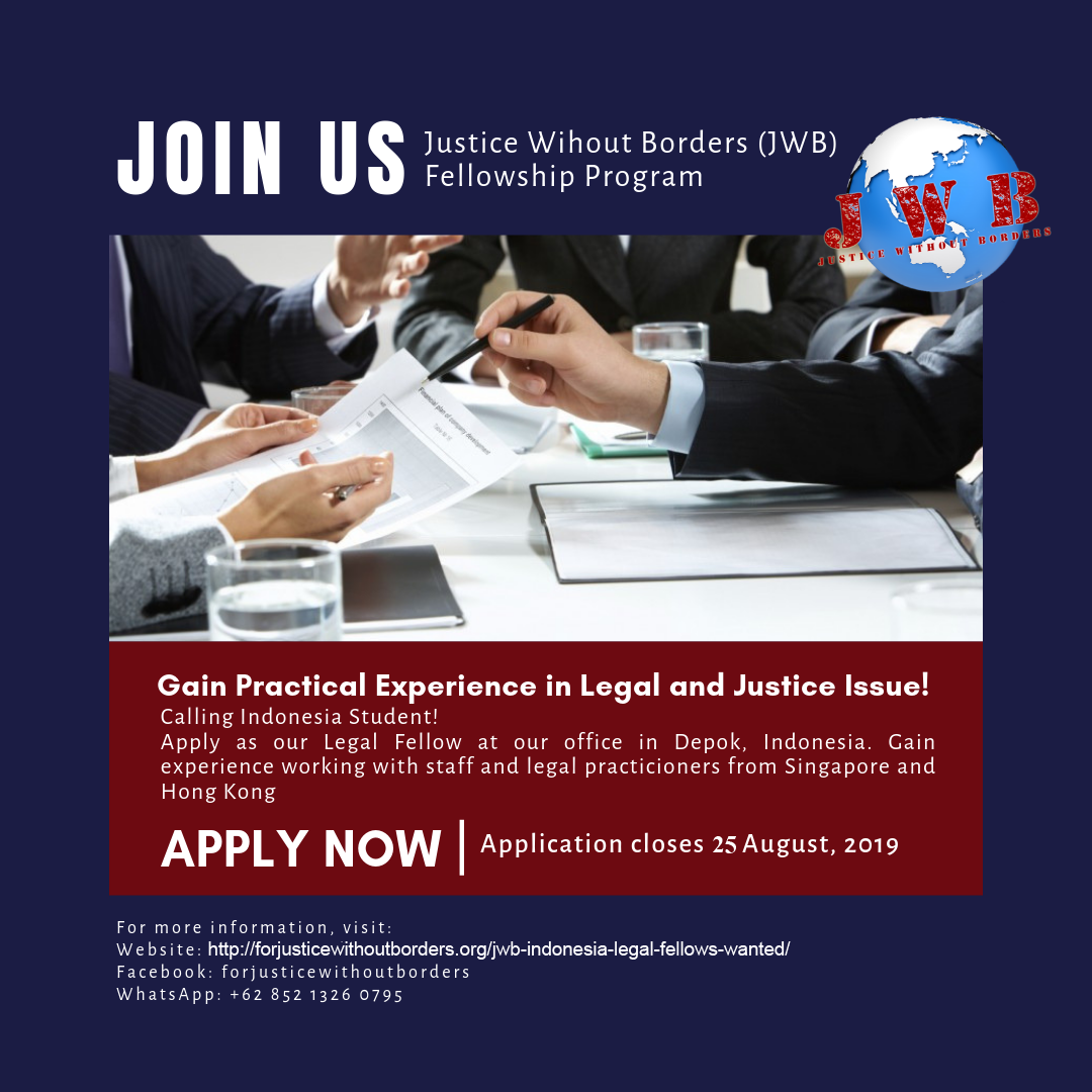 Legal Fellow at Justice Without Borders
