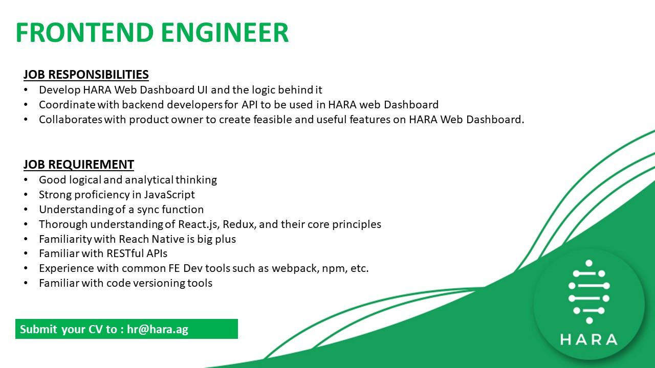 Frontend Engineer at Dattabot