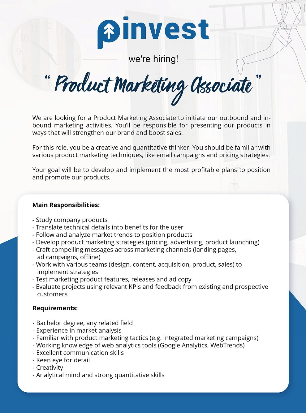Product Marketing Associate at Pinvest