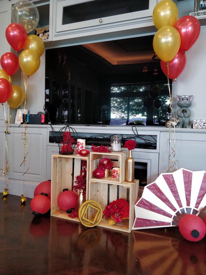 Chinese new year decoration idea for company, shop, store, showroom, hotel, department store