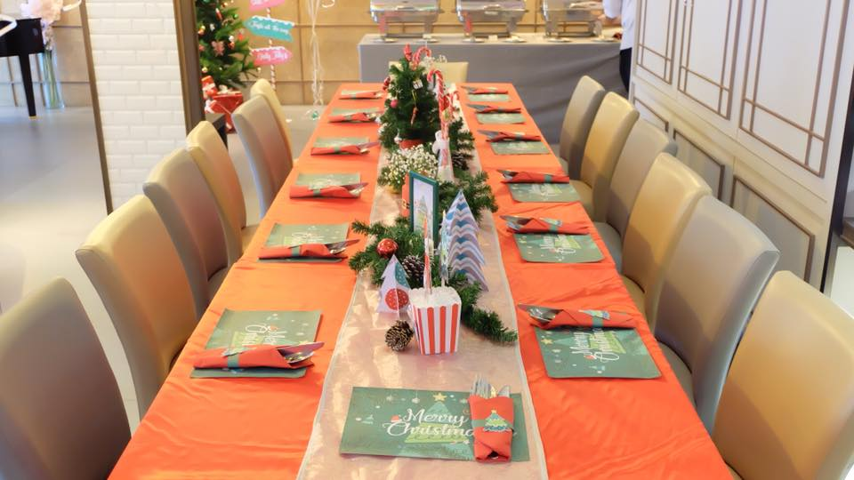 Christmas and new year decoration idea for event, company, shop, store, showroom, hotel, department store, school, Christmas party