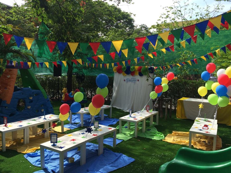 Event decoration for Dektay, cool kids costume brand of K.Nana and K.Way - Glitz Party BKK, the party planner for kids birthday, providing one-stop party service in Bangkok area