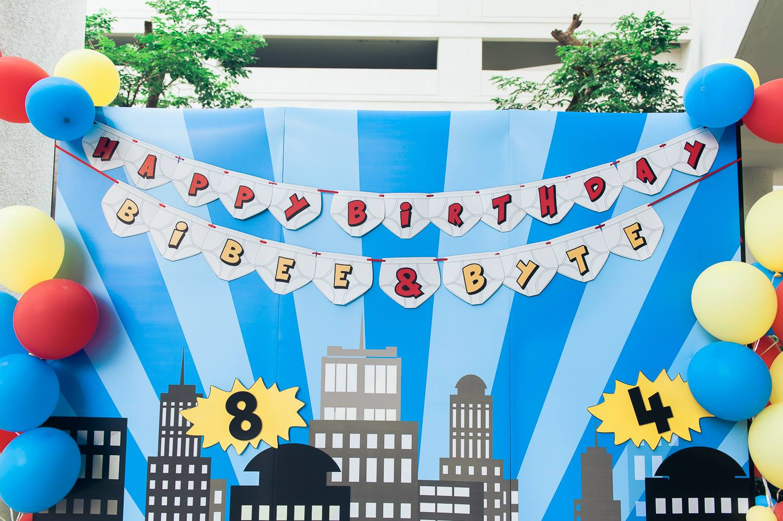 ไอเดียปาร์ตี้วันเกิดสำหรับใครที่อยากจัดธีม Captain Underpants ทั้งแบคดรอป ลูกโป่ง การตกแต่ง โต๊ะเด็ก และกิจกรรมสนุกๆ