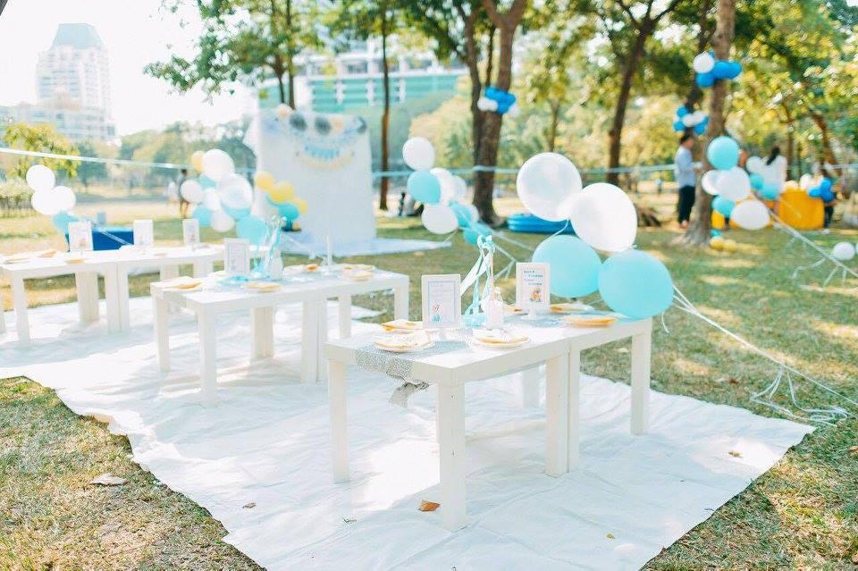 ปาร์ตี้ธีมมินเนี่ยนเอลซ่า สำหรับงานวันเกิดของน้องบีน่าและน้องบรู้คลิน ลูกฝาแฝดคุณแม่นานา และคุณพ่อเวย์ ทั้งแบคดรอป มาสคอต ขนม โต๊ะเด็ก การตกแต่ง และลูกโป่งน่ารักๆ