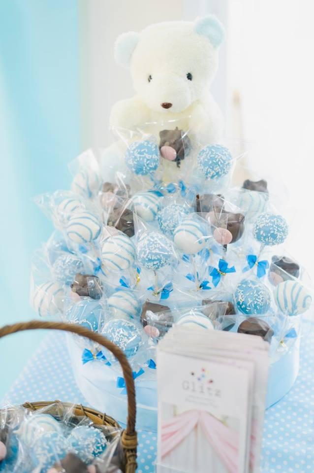 น่ารักสุดๆ กับในปาร์ตี้ธีมหมีน้อย ทั้งแบคดรอป โต๊ะเค้ก เค้กวันเกิด และขนมตามธีมงาน ไอเดียสำหรับงานวันเกิดลูกของคุณ