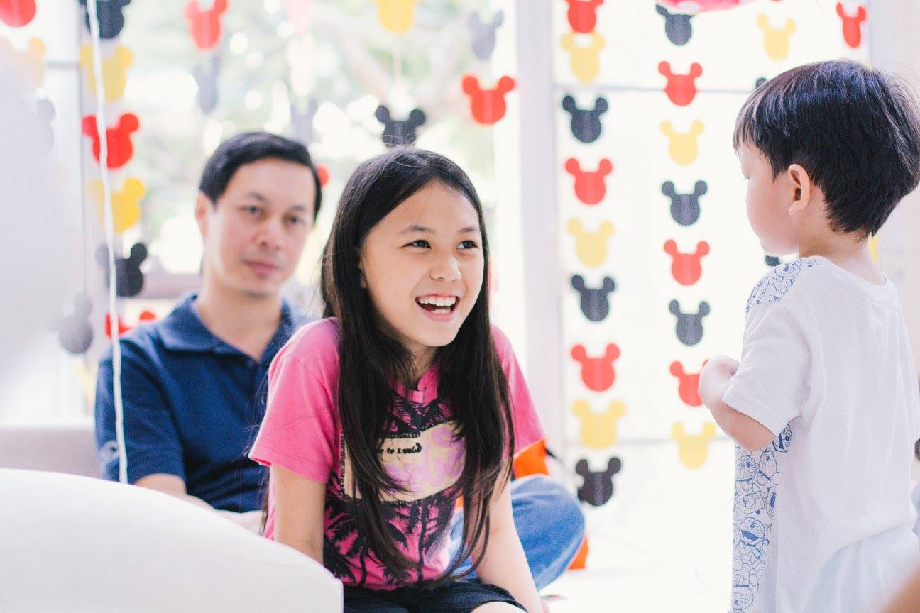 Mickey Mouse Birthday Party with customized decoration, backdrop, birthday cake, desserts, pinata and activities