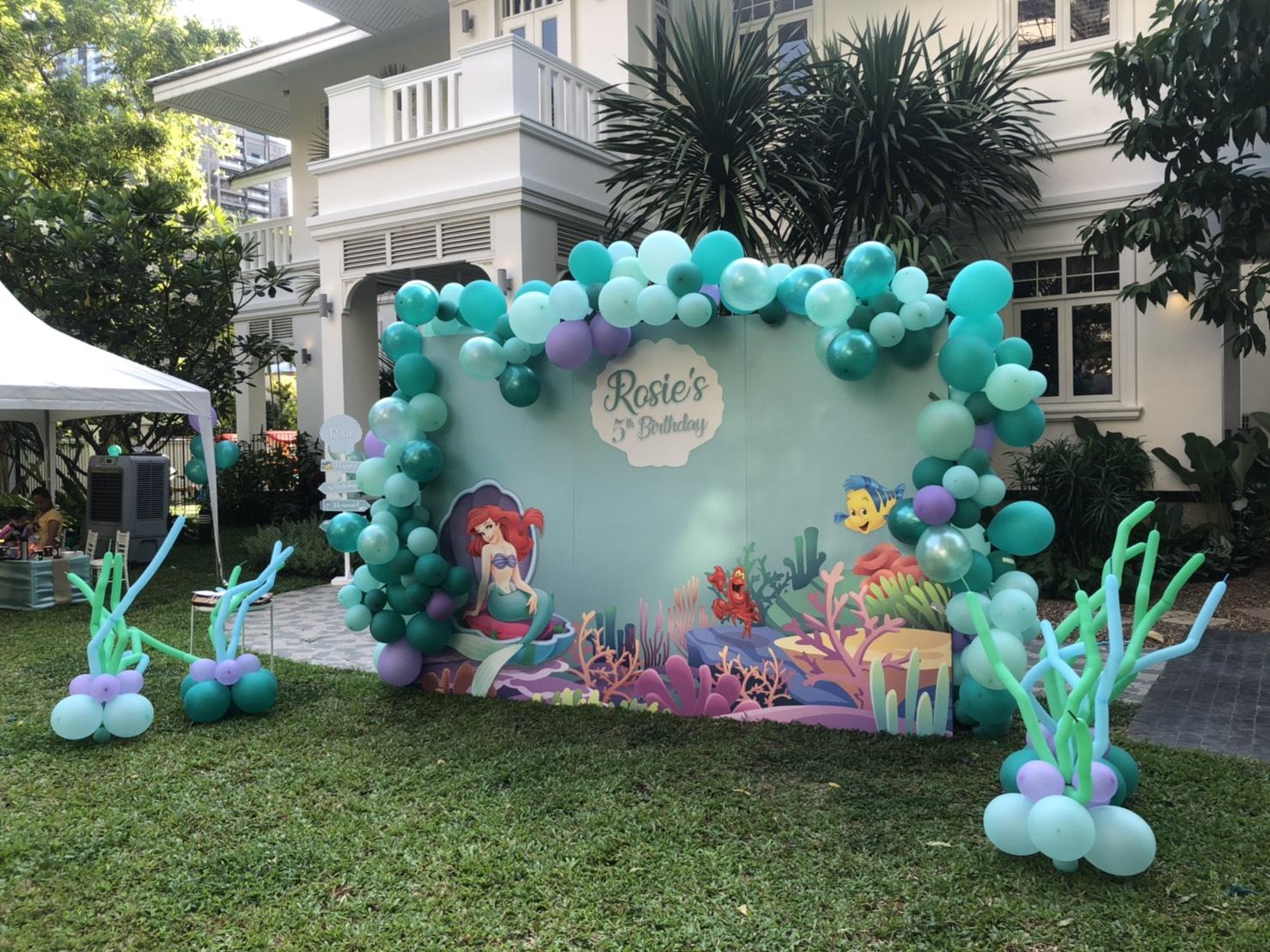 เซอไพรส์ลูกรักของคุณด้วยปาร์ตี้วันเกิดสุดพิเศษในธีม เมอร์เมด ให้เด็กๆ รู้สึกเหมือนอยู่ในโลกใต้ท้องทะเล มีทั้งแบคดรอป จัดลูกโป่ง บ้านลม บ่อบอล และอื่นๆ ตามคุณต้องการ