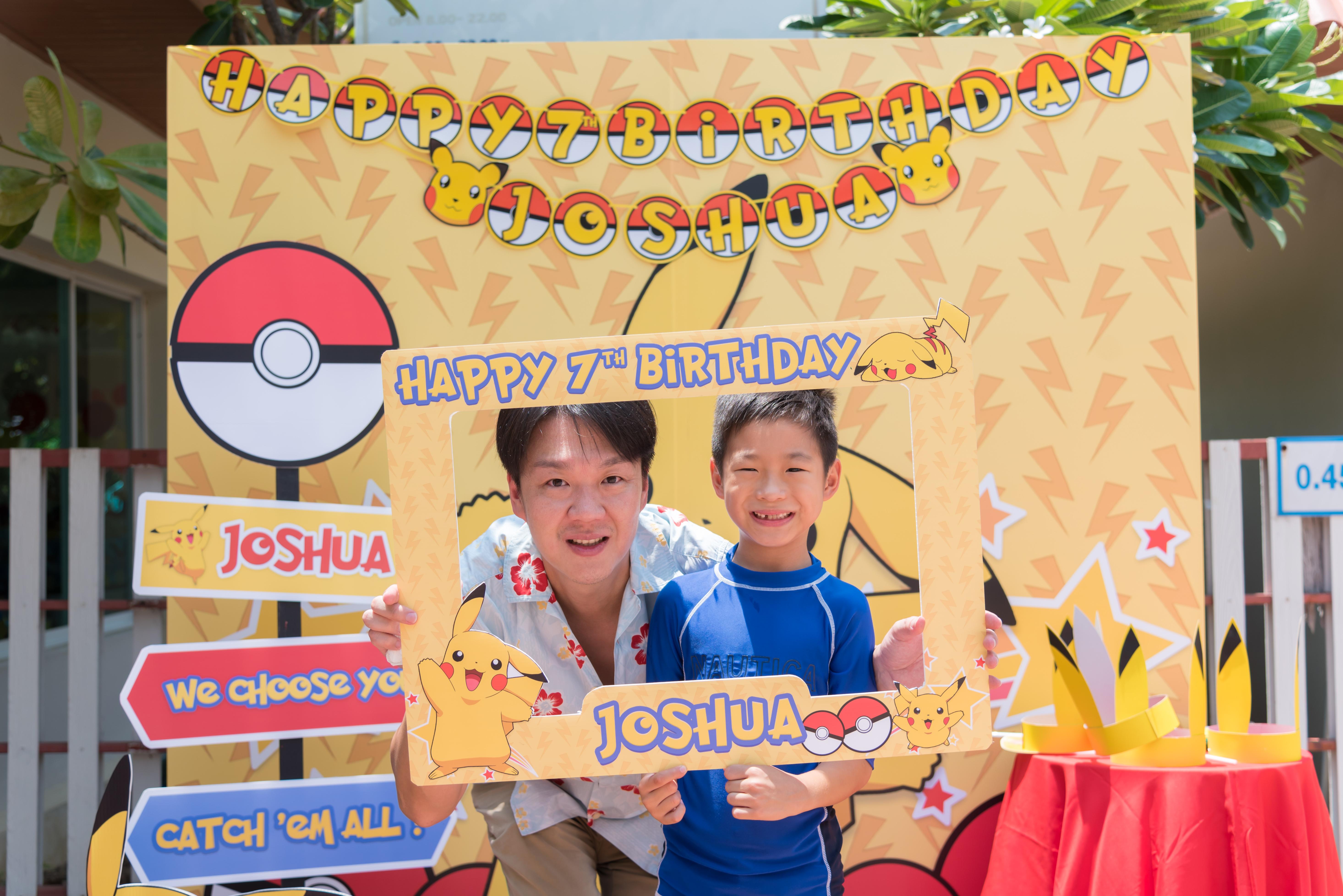 Favorite birtday theme, Pokemon and Pikachu - Choosing us, the birthday party organizer providing decoration, birthday cake, entertainments, party games, bozo, magician, balloon twist, clowns, mascot, show and more fun stuffs