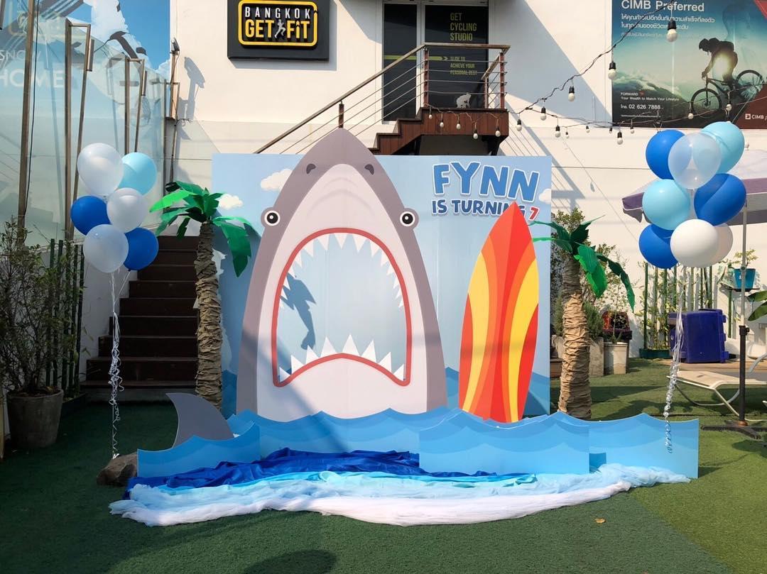 ระวังฉลามบุก! ปาร์ตี้วันเกิดธีม