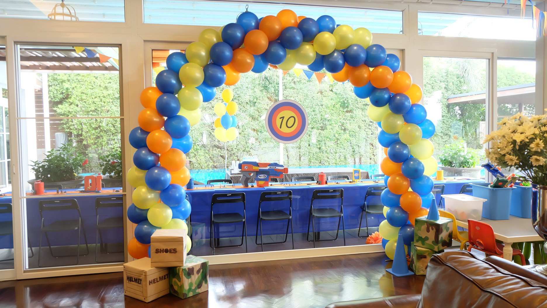 Fun and cool theme birthday party